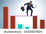 young businessman in business...   Shutterstock . vector #1433007824