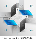 design elements  for options ... | Shutterstock .eps vector #143305144
