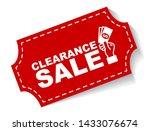red vector illustration banner... | Shutterstock .eps vector #1433076674