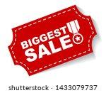red vector illustration banner... | Shutterstock .eps vector #1433079737
