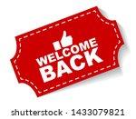 red vector illustration banner... | Shutterstock .eps vector #1433079821