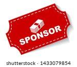 red vector illustration banner... | Shutterstock .eps vector #1433079854