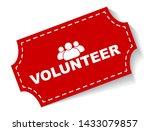 red vector illustration banner... | Shutterstock .eps vector #1433079857