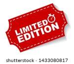 red vector illustration banner... | Shutterstock .eps vector #1433080817