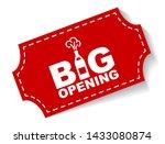 red vector illustration banner... | Shutterstock .eps vector #1433080874