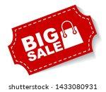 red vector illustration banner... | Shutterstock .eps vector #1433080931