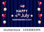happy 4th of july. usa... | Shutterstock .eps vector #1433083394