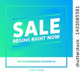 sale promotion banners for... | Shutterstock .eps vector #1433085581