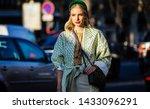 paris  france  february 27 2019 ... | Shutterstock . vector #1433096291
