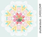 gentle abstract wallpaper in... | Shutterstock .eps vector #143311549