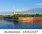 Neva River. Peter And Paul...