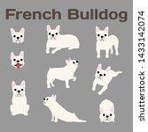 french bulldog illustration dog ...   Shutterstock .eps vector #1433142074
