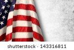 flag 4 july | Shutterstock . vector #143316811