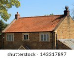 Exterior Of Brick House With...