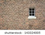 Brick Wall Of Old Castle With...