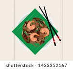 penang malaysia char koay teow... | Shutterstock .eps vector #1433352167