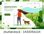 vector illustration   tourist... | Shutterstock .eps vector #1433356124