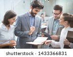 group of business people...   Shutterstock . vector #1433366831