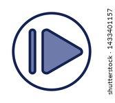 play button  vector icon....