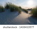 Dune In Warm Sunlight With...