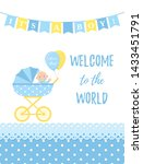Baby Shower Boy Card. Baby Boy...