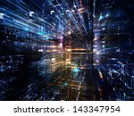 fractal city series. visually... | Shutterstock . vector #143347954