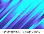 line diagonal pattern. blue... | Shutterstock .eps vector #1433494547
