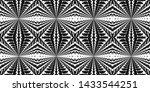 seamless black and white...   Shutterstock . vector #1433544251