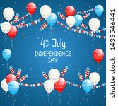 independence day theme.... | Shutterstock . vector #1433546441