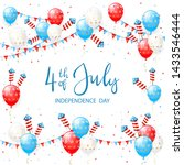 independence day theme.... | Shutterstock . vector #1433546444
