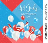 independence day theme.... | Shutterstock . vector #1433546447