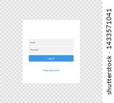 login form page template...