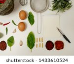 beautiful food menu layout.... | Shutterstock . vector #1433610524
