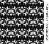 design seamless monochrome... | Shutterstock .eps vector #1433671847