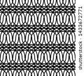 design seamless monochrome... | Shutterstock .eps vector #1433672771