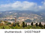 alanya. turkey. view of the... | Shutterstock . vector #143374669