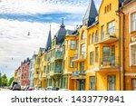 Colorful Facades Of Buildings...