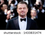 "Small photo of CANNES, FRANCE - MAY 21: Leonardo DiCaprio attends the premiere of the movie ""Once Upon A Time In Hollywood"" during the 72nd Cannes Film Festival on May 21, 2019 in Cannes, France."