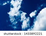 blue sky background with... | Shutterstock . vector #1433892221