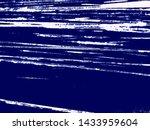art stylized blue texture... | Shutterstock . vector #1433959604