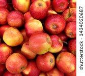 macro photo food fruit red... | Shutterstock . vector #1434020687