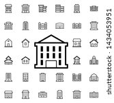 building icon. universal set of ... | Shutterstock . vector #1434053951