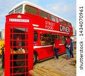 liverpool  uk   may 17 2018 ... | Shutterstock . vector #1434070961