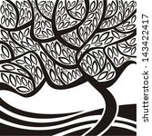tree pattern illustration   Shutterstock . vector #143422417