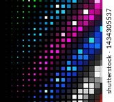 geometric colorful background.... | Shutterstock . vector #1434305537