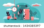 delivery service vector... | Shutterstock .eps vector #1434385397
