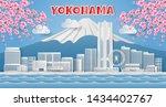 Japan Landmark Travel Banner ...