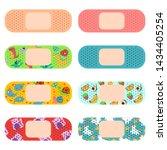 medical adhesive plaster for... | Shutterstock .eps vector #1434405254