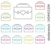 women's day  bag  heart multi...