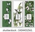 herbal illustration on label... | Shutterstock .eps vector #1434431561